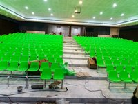 Auditorium plastic chairs